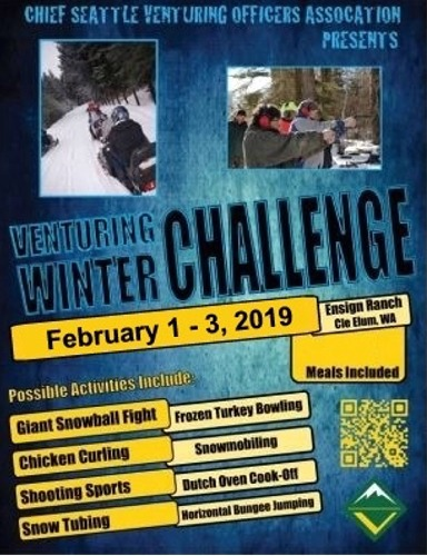Read more: Venturing Winter Challenge 2019