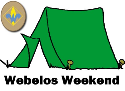 Webelos Weekend Staff Registration